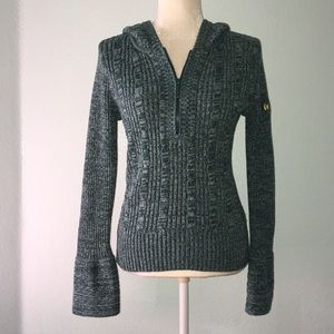Green DKNY Half Zip Sweater 9